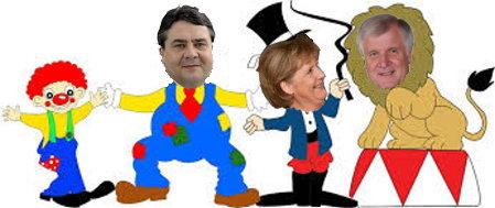 Zirkus Merkel