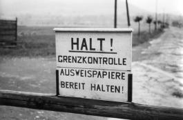 Zonengrenze bei Heldra 1952