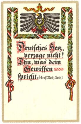 Deutsches Herz …   von Ernst Moritz Arndt