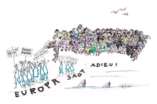 Zeichnung: Fridolin Friedenslieb