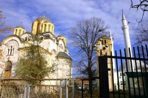 Ferizaj, Mosque and Church