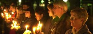 Menschen Kerzen