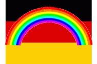 neue Deutschlandfahne regenbogen