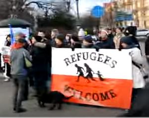 Refugees Polen