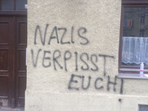 nazi-schmiererei