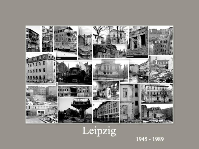 Leipzig-Ruinen